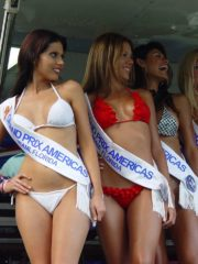 Grand Prix Americas Hot Girls Bikini Contest 133
