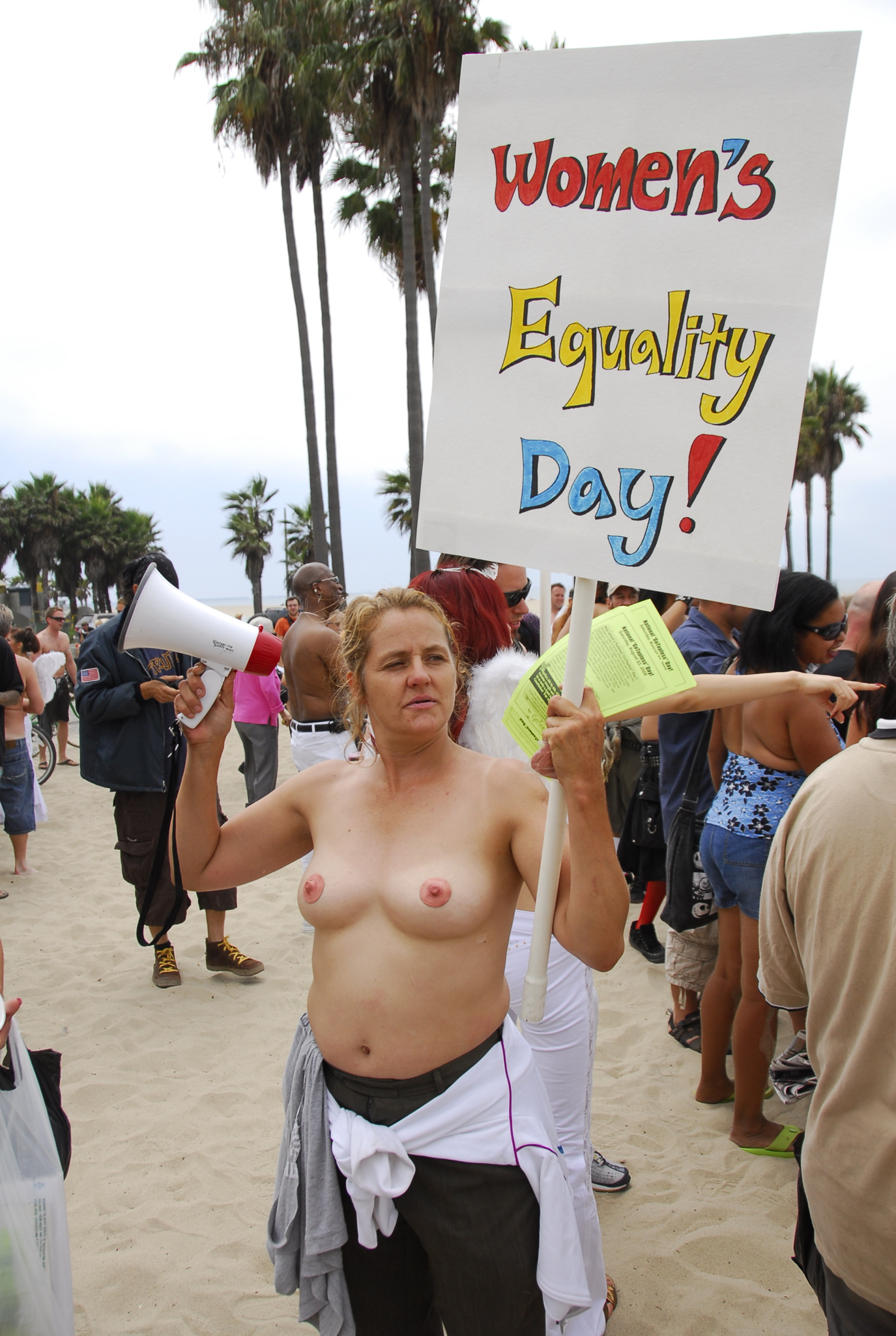 Does The Us Have A Problem With Topless Women