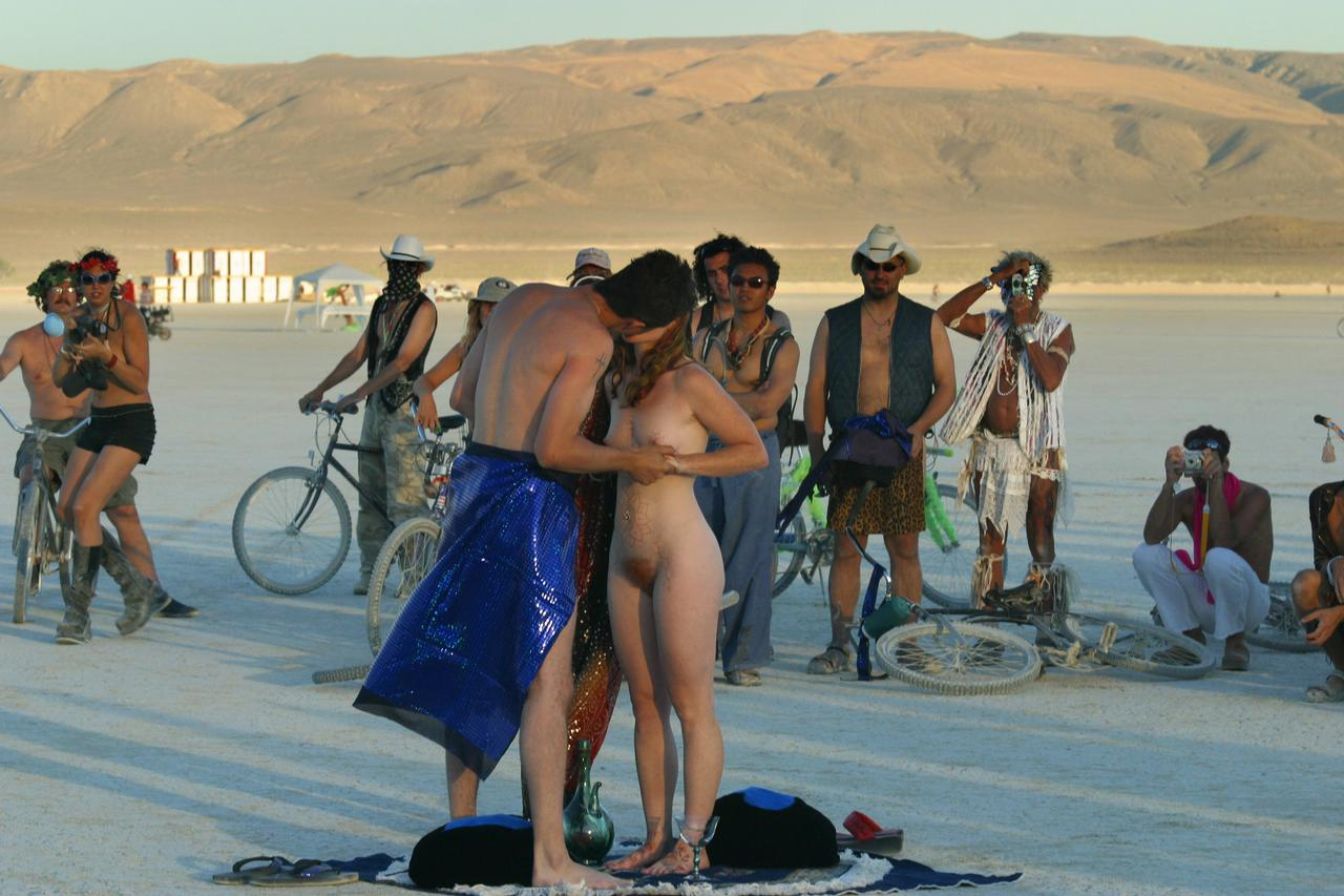 Burning Man Sex Photo