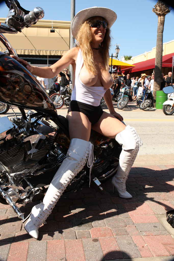 Consider, that Daytona bike week girls naked