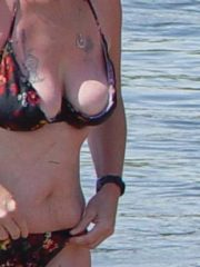 Sexy Girls Flashing Their Tits and Ass on the River. Naked, Topless or wearing a Thong or Bikini as they Flash on the River